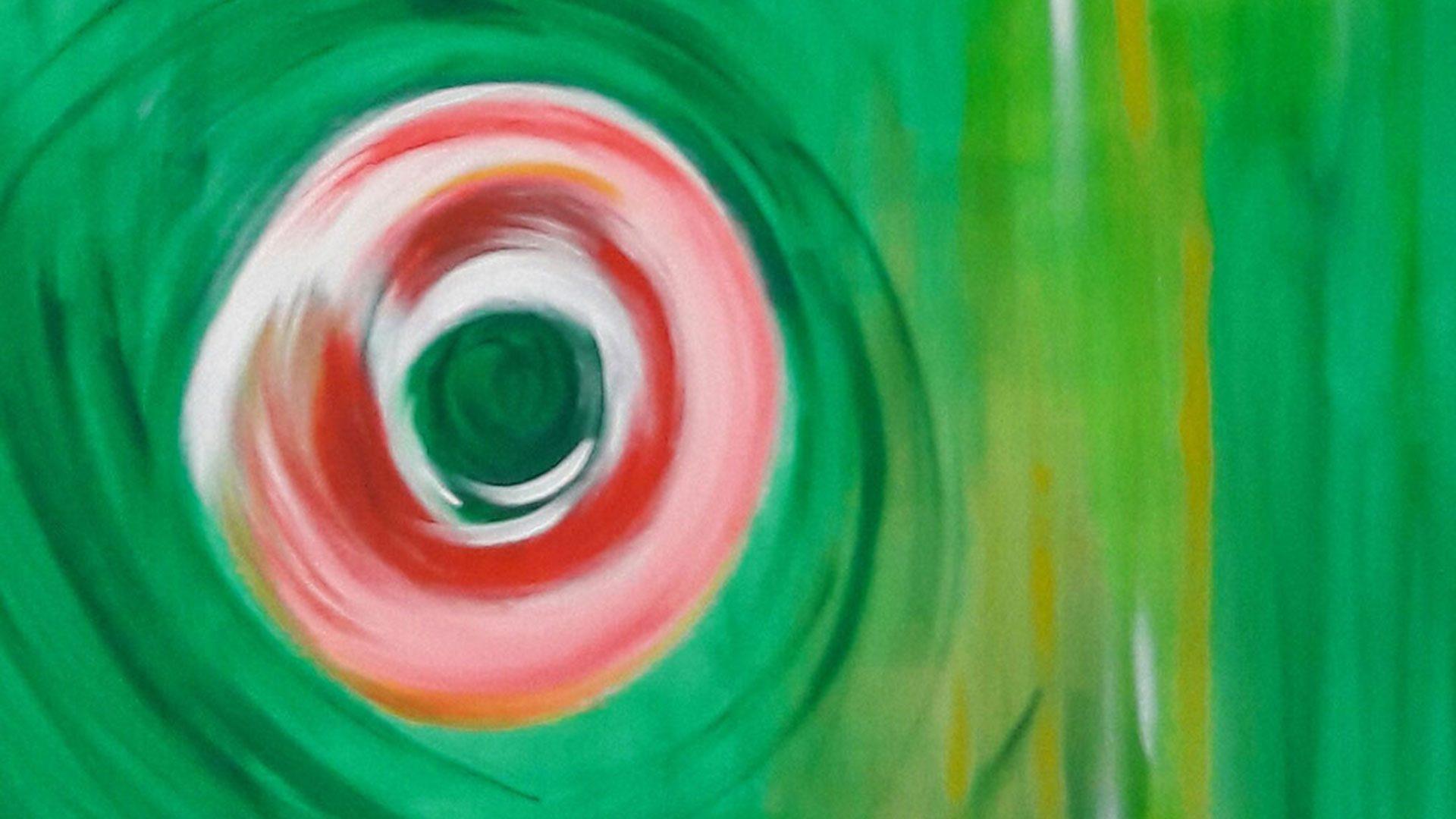 Malerei zur Hypnose
